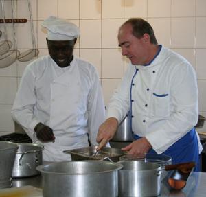 """""""Führungskräfte Kochen für Ihre Mitarbeiter"""""""